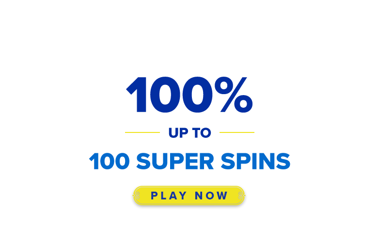 AHTI Games Online Casino > Get 100 Super Spins to Play!