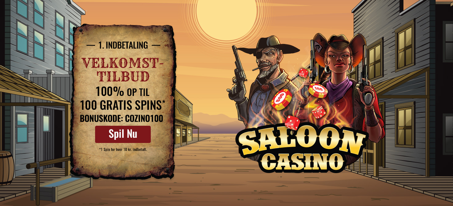 Moderne Cozino: Online Casino Spil - få 100 Bonus Spins OW-13